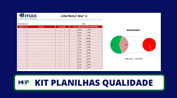 Kit Planilhas Qualidade
