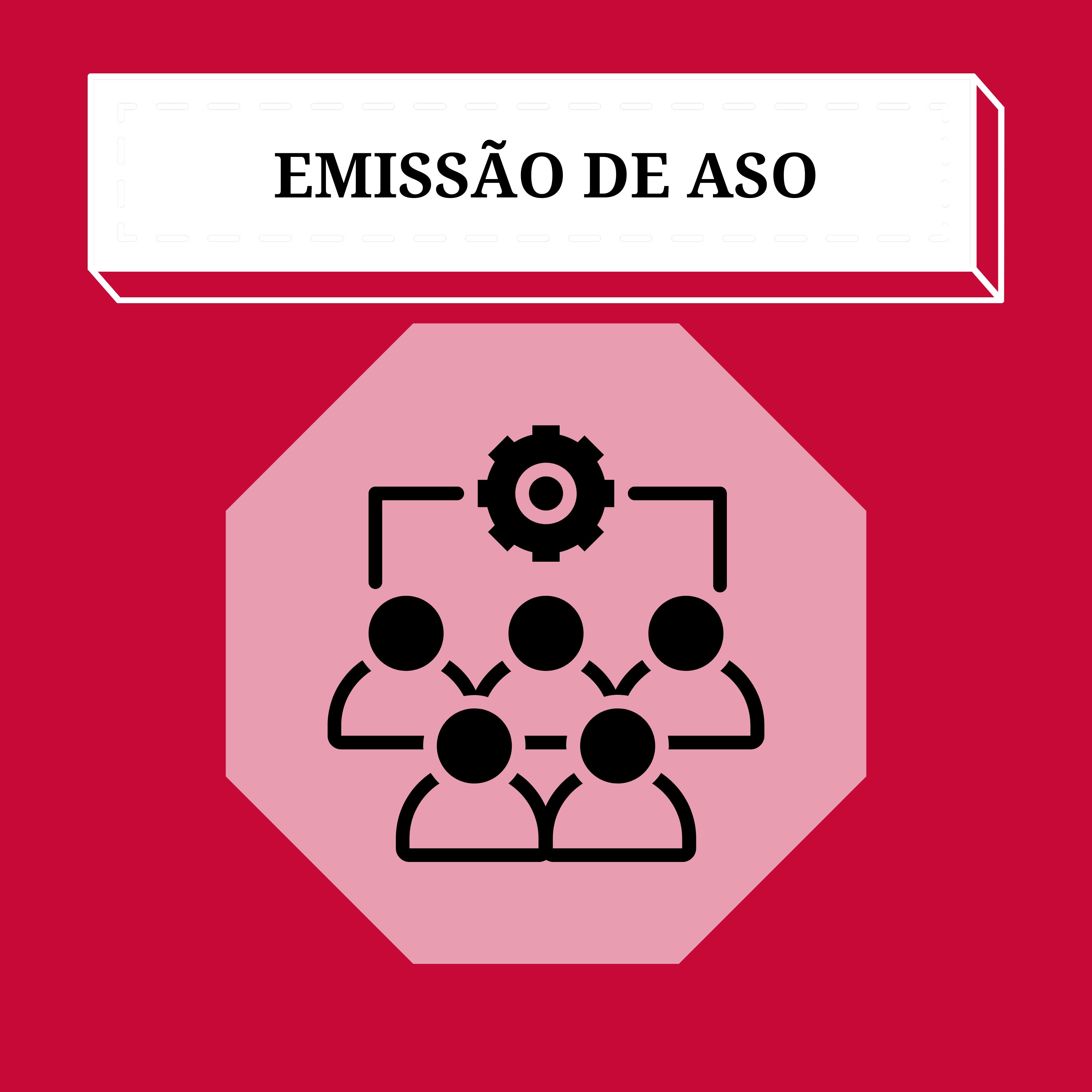 Formulário para emissão de ASO