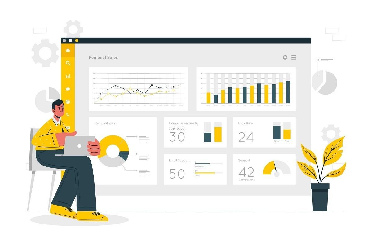 O que são dashboards no Excel?