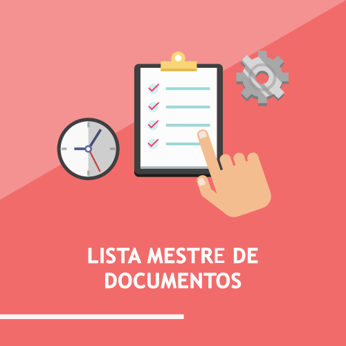 Lista mestre de documentos