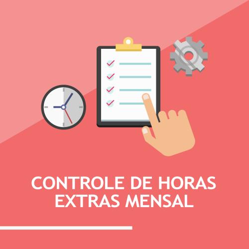 Controle de Horas extras mensal